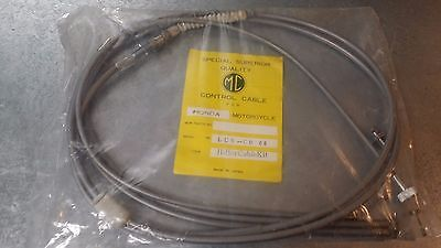 NOS Honda CB160 CABLE SET CL160 Hi Bar Grey Gray Throttle Clutch Brake