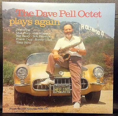 The Dave PELL Octet Plays Again - LP - MUS