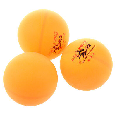 3 Pcs Double Fish ITTF Approved 3-Stars Table Tennis N3