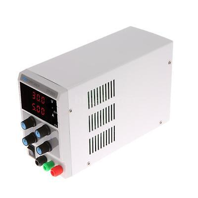 0-30V 0-5A Dual LED Variable Precision Adjustable Digital DC Power Supply W9M7