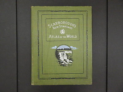 Scarborough's New Standard Atlas of the World, 1910