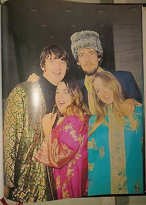 The Mamas And The Papas :  Mini Poster   !!!!(Spanish Magazine)