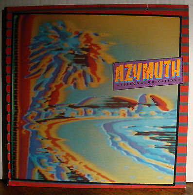 LP AZYMUTH - Telecommunication  1982