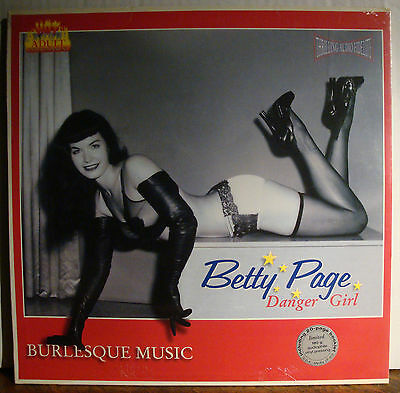 Lp Betty Page Danger Girl - Burlesque Music  1996
