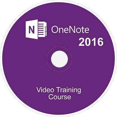Learn Microsoft Office:onenote 2016 Course Video Tutorial Training Guide  Dvd