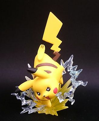Pikachu EX XY124 SCULPTED FIGURE TOY PROMO Red Blue Collection Pokemon Mythical