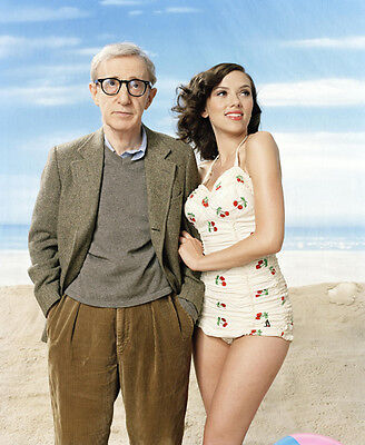 Scarlett Johansson and Woody Allen UNSIGNED photo - D1470