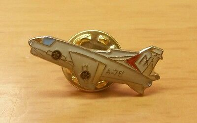 Vintage A-7E Corsair II Fighter Bomber Aircraft Enamel Lapel Pin