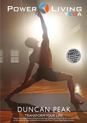 Power Living Yoga DVD by Duncan Peak