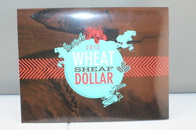 2012 Wheat Sheaf Dollar Four Coin Mintmark and Privy Mark Set, C B M & S, Mint