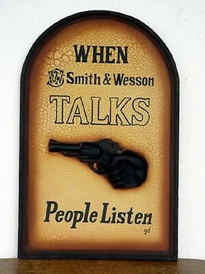 Smith and Wesson  Wall Sign