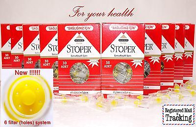 Stoper Cigarette Filters 30-720 Pieces - Tar Blocking, Targard Best Quality