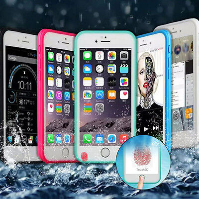 Shockproof Hybrid Rubber Waterproof Full Body Case Cover For iPhone 5 6 6S Plus