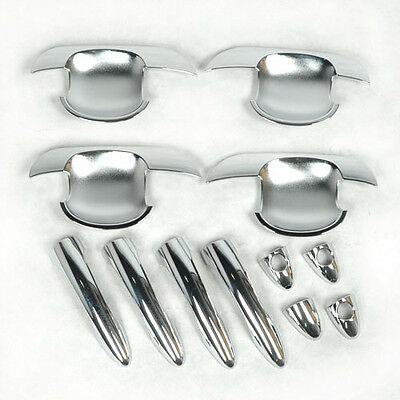 ABS Chrome Left Right Hand Plating Car Door Handle Bowl Cover for Kia Sportage