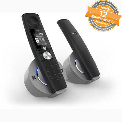 BT Halo Twin Nuisance Call Blocking Cordless Phone with Bluetooth Answer Machine