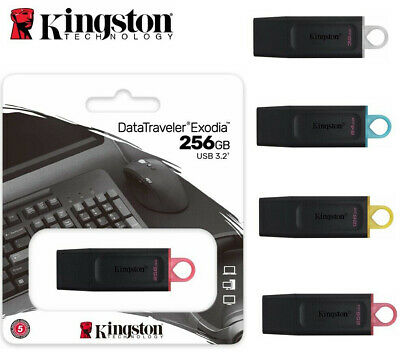 USB Flash Drive 3.0 Kingston DataTraveler Memory Stick 32GB 64GB 16GB 128GB 8GB
