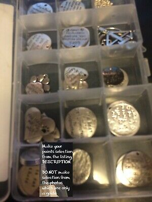 30 x Seconds Clearance Pendants Charms findings 4 scrap booking children's craft