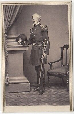 Civil War General Lorenzo Thomas CDV