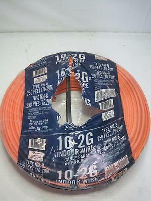1675 EWC Type NM-B 10-2G 250Ft Indoor Romex 220v New Condi FREE Ship Conti USA