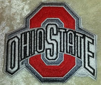 """Ohio State Buckeyes 3"""" Iron On Embroidered Patch ~FREE Ship`!!"""