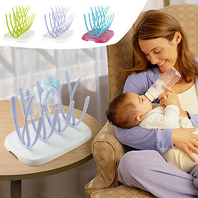 New Sprout Baby Bottle Drying Rack Baby/Toddler Nursery Bottle Feeding BPA Free