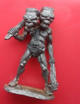 C31 FF16 giant two headed Troll citadel games workshop fiend factory compendium