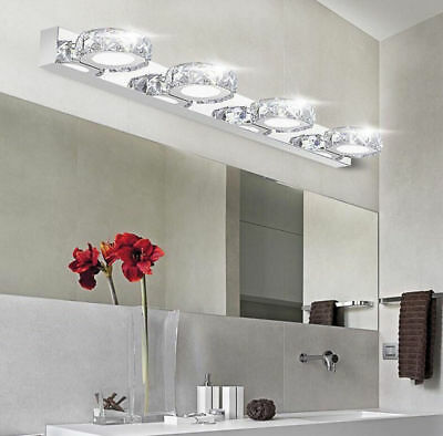 Modern Bathroom Crystal Lights Wall LED Lamps Fashion Cabinet Mirror Lights 6062