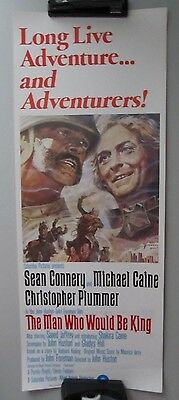 Man Who Would Be King 14X36 Orig Rolled Movie Poster 1975 Insert Sean Connery