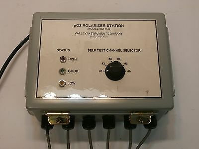 Valley Instrument DPS-6 Channel Bioreactor Polarizer Station