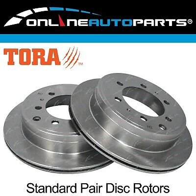 2 Rear Disc Brake Rotors suits Toyota Landcruiser HZJ73 HZJ75 FZJ75 70 75 Series