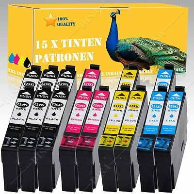 1-20 non-original Ink cartridges complete for Epson XP235 XP330 Series