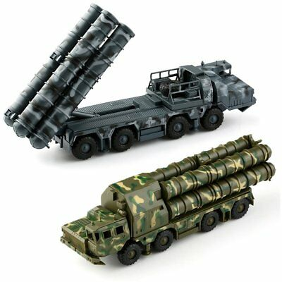 KIT grey/green random S-300 SA-10 Grumble 5P85D/S Missile Launcher 1/72