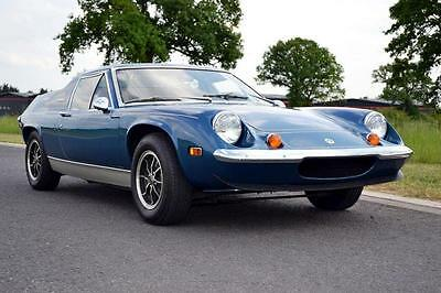 1974 Lotus Europa Twin Cam Special finished in Blue