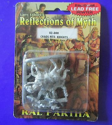 02-800 chaos mounted knights ral partha reflections of myth blister elmore