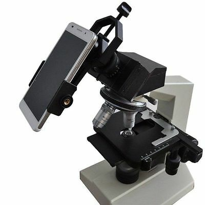 Universal Cell Phone Adapter Mount For Spotting Scope Telescope and Microscope