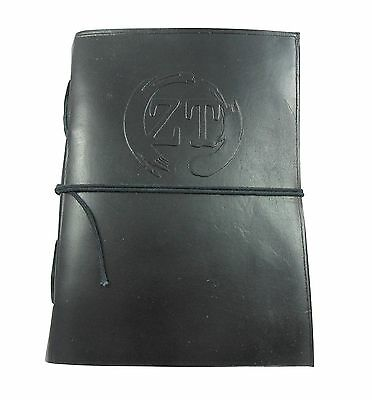 Genuine Soft Leather Notebook Journal Diary with Handmade Paper