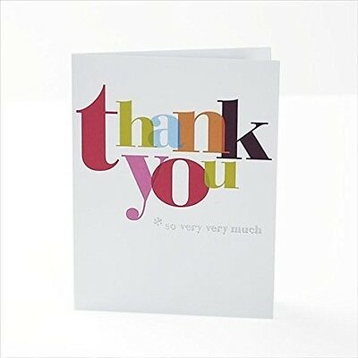 Pack Of 10 Thank You Cards With Envelopes New Gift