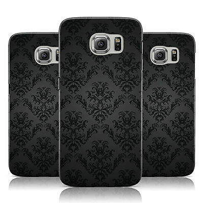 Dyefor Vintage Black/white Pattern Case Cover For Samsung Galaxy Mobile Phones