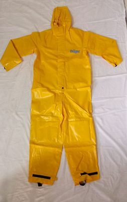 ''drager''  Workstar  Pvc-Coated Fabric Safety Protective Suit
