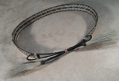 "Vintage Horse Hair Braided Hat Band -- Old! -- Sold  ""As-Is"""