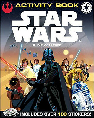 Star Wars: A New Hope: Activity Book (Star Wars Activity), New,  Book