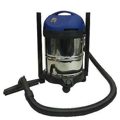 Wet And Dry Vacuum Vac Cleaner Industrial 20Ltr 1000W Stainless Steel