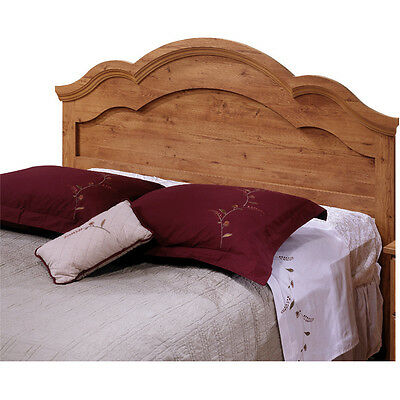 Full/ Queen Headboard Natural Wood Finish