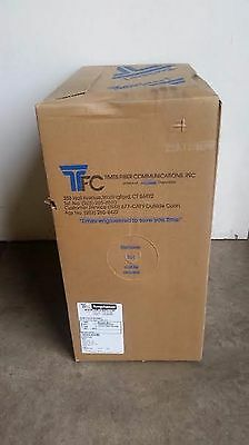 Cable in Box RG6 60% In House 1000ft  For Satellite,Cable TFC T660-LTV Box