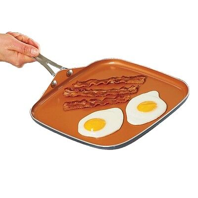 """Gotham Steel Ceramic Non-Stick Griddle 10.5"""" - Brand New - Free Shipping!"""