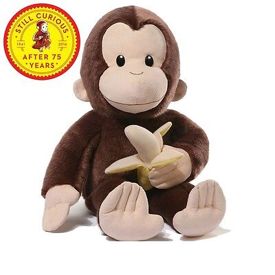 Curious George 75th Anniversary Stuffed Animal plush  - NEW, by GUND!!