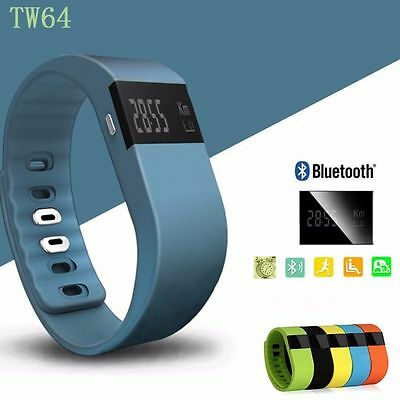 TW64 Sports Bluetooth Smart Bracelet Watch Pedometer Wristband For IOS & Android