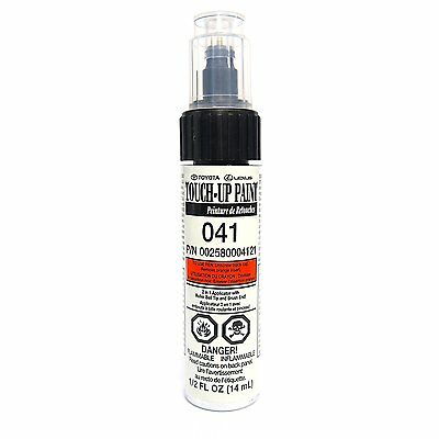 Genuine Toyota 00258-00041-21 White Touch-Up Paint Pen (.5 fl oz, 14 ml) by Toyo