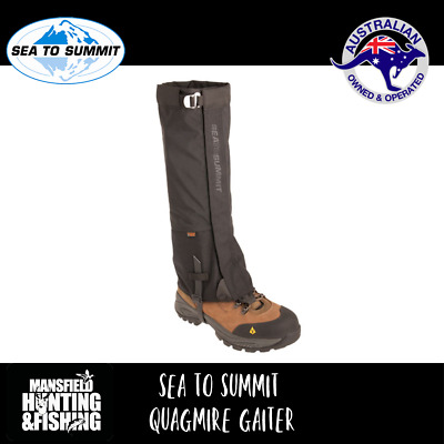 Sea To Summit Quagmire Gaiters, The Ultimate Hiking Gaiter! Protect Your Legs