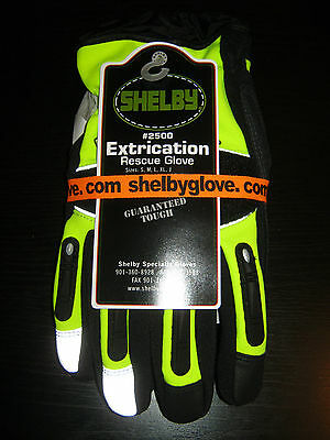 Shelby Xtrication Gloves Fire New Style Part# 2500 Size XL Extra Large